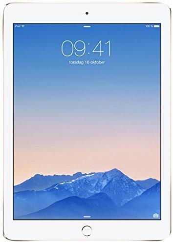 Apple iPad Air 2 16GB Gold - tablets (Full-size tablet, iOS, Slate, iOS, Gold, Lithium Polymer (LiPo))