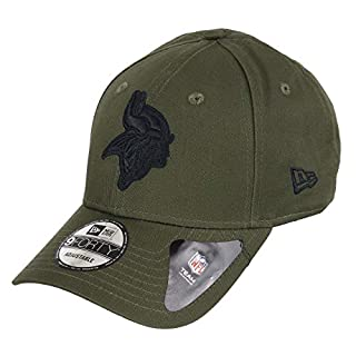New Era Minnesota Vikings 9forty Adjustable Cap NFL Olive Pack Olive - One-Size