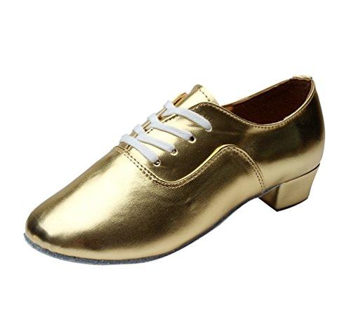 Lihaer scarpe da ballo latino jazz per bambini per adulti resistente scarpe da ballo da uomo professionali