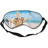 Starfish With Sunglasses Illustration Sleep Eyes Masks - Comfortable Sleeping Mask Eye Cover For Travelling Night... preisvergleich bei billige-tabletten.eu