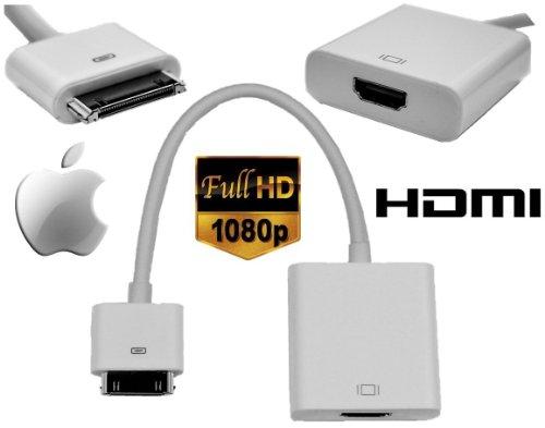 MAK POWER Apple per ipad adattatore da HDMI ad alta velocità, iphone &; ipod a TV- full HD 1080p