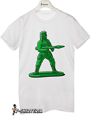 T-shirt Super Mini Soldier - Tutte le taglie by tshirteria Bianco