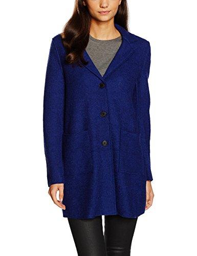 VERO MODA Damen Mantel VMSHELBY 3/4 Wool Jacket DNM Blau Twilight Blue, 38 (Herstellergröße: M)