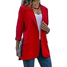 new arrival 18af6 558e5 Amazon.it: giacca rossa donna elegante - 1 stella e più