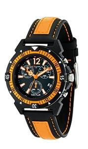 Reloj Sector R3271697001 de cuarzo para hombre con correa de caucho, color negro de Sector