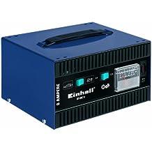 Einhell 1023110 BT-BC 8 - Cargador de batería regulable (6 V - 12 V, para baterías de plomo 20 - 120 A (coche) y 3,7 - 30 A (moto))