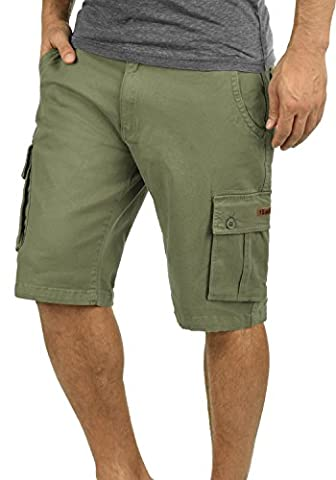 SOLID Lixa - Shorts Cargo - Homme, taille:M, couleur:Dusty Oliv (3784)