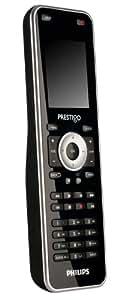 Philips SRT 8215 Prestigo 15-in-1 Telecomando universale (Touchscreen, Simboli delle emittenti, Gestione attività), colore: Nero