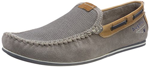 Bugatti Herren 321469631469 Mokassin Grau (Light Grey/ Light Grey)