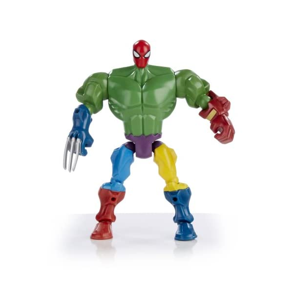 Marvel Super Hero Mashers Spider-Man Figure 6 Inches 5