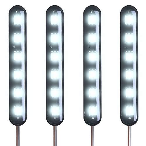 Kinstecks 4PCS Motorrad Kennzeichenbeleuchtung Flashing Motorrad LED Kennzeichenbeleuchtung für Motorrad Motorrad Roller
