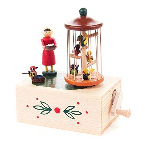 Miniature Boîte à musique Cage à oiseaux – Dregeno des monts Métallifères