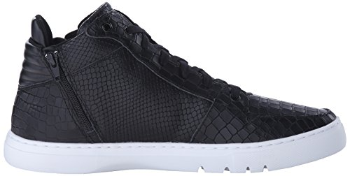 Creative Recreation Adonis, Basket homme Nero (Mid Black Croco)
