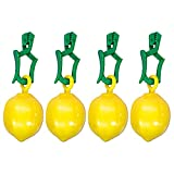 Tischtuchhalter Zitrone 4er K.