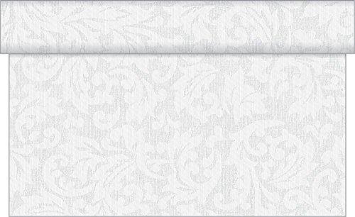 Sovie Horeca Linclass Airlaid Tischläufer MIKA/24 m x 40 cm/praktische Einmal-Tischläufer für...