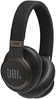 JBL Live 650BTNC Wireless Over-Ear Noise-Cancelling Headphones (Black)
