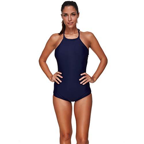 Momoxi Badeanzug Damen Frauen sexy Sport Bikini Monokini Badeanzug bademode bademode Backless Bikini