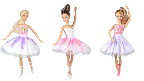 adm-1017-ballet-dresses-ballerina-princess-3-dress-set-with-shoes-dolls-not-included-suitable-for-fa