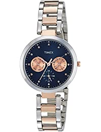 Timex Analog Blue Dial Women's Watch-TW000X210