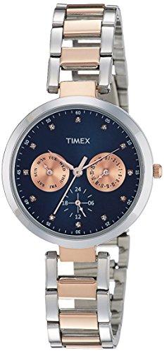 Timex Analog Blue Dial Women's Watch-TW000X210