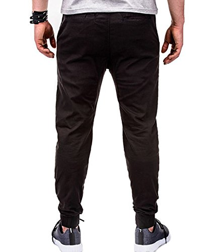 BetterStylz - Pantalon - Homme multicolore Mehrfarbig Schwarz