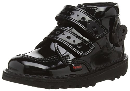 Kickers Kick Flutter Infants, Stivali Bambina, colore black (black), taglia 24 (7 Child UK)