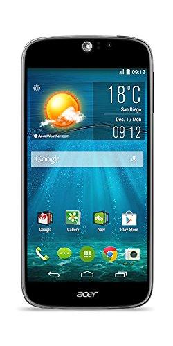 Acer Liquid Jade S 5' Dual SIM 4G 2GB 16GB Black - Smartphones (12.7 cm (5'), 2 GB, 16 GB, 13 MP, Android 4.4, Black)