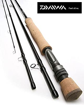 New Daiwa Wilderness Fly Fishing Rod 9' #6 4pc Model No. Wntf906-4-au from Daiwa