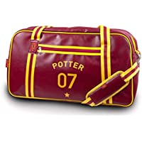 Groovy Harry Potter Quidditch Holdall, Rojo, Mediano