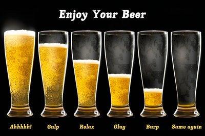 Birra-Enjoy Your Beer-61x 91cm mostra/Poster
