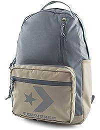 c1379f437b56 Converse Unisex Backpack Block Essential Backpack Vintage Khaki Gray Grey  Beige