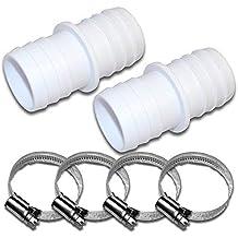 ABS Schlauchverbinder// Schlauchtülle Verbinder Tülle für Poolschlauch 32 x 32 mm