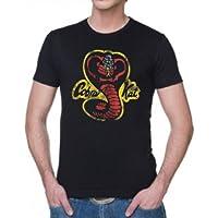 Coole-Fun-T-Shirts - Maglietta Karate Kid, colore: nero, Nero (nero), L