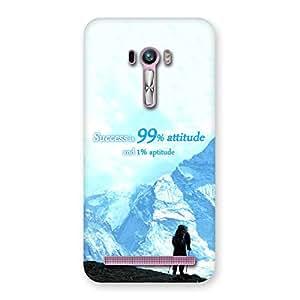 Gorgeous Attitude Success Back Case Cover for Zenfone Selfie