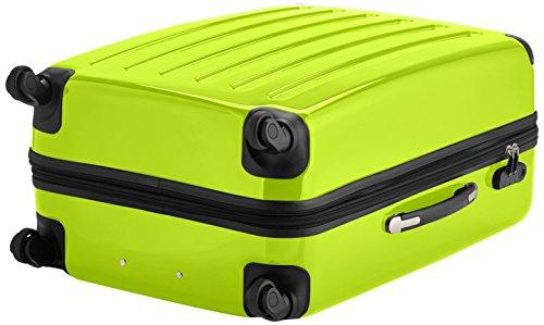 HAUPTSTADTKOFFER - Alex - Hartschalen-Koffer Koffer Trolley Rollkoffer Reisekoffer Erweiterbar, 4 Rollen, 75 cm, 119 Liter, Apfelgrün - 4