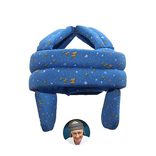 ASEOK Anti-Fall-Kopfschutzhelm, älterer Hut Gesundheitsschutz Atmungsaktive Anti-Shock-Kappe