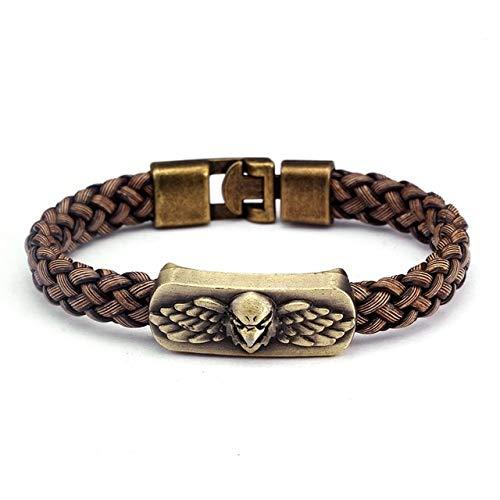 ZUOZUO Lederarmband Geflochtene Kette Armband Herren Und Damen Schmuck Sport Wrap Leder Armband Herren Armband Armband