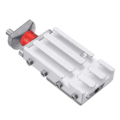 ChaRLes 118Mm Metallo Croce Slide Scorrevole Longitudinale Block Z008M Per Mini Tornio Alimentazione Asse Y/Z