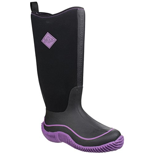 Muck Boots - Hale - Stivali Wellington - Donna Nero/Viola