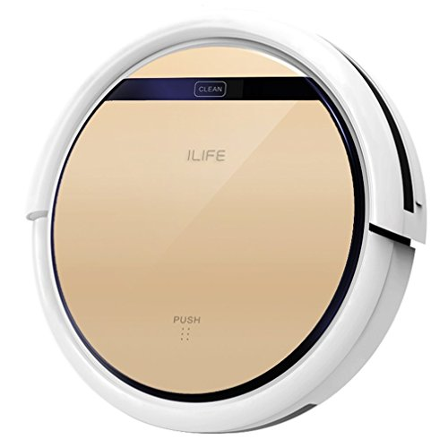 ILIFE V5s Roboter Staubsauger mit Wasserbehälter Mopping, Gold
