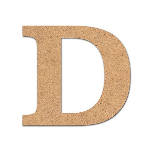 Details Kinder-Buchstabe Holz Basteln 10cm D (D Basteln Buchstaben)