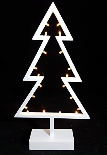 Stimmungsvolle LED Dekoleuchte - Tanne - Deko Lampe Tisch Leuchte Weihnachtsdeko
