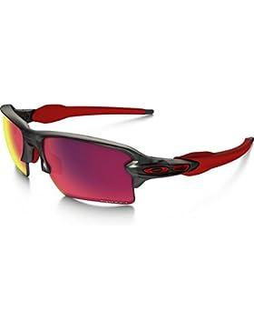 Oakley Gafas de sol Sonnenbrille Flak 2.0 XL Matte Grey Smoke, 59
