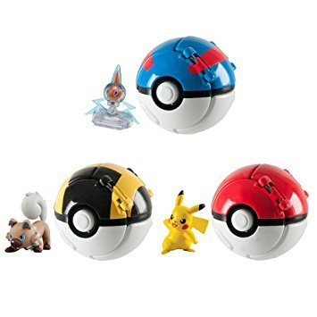Image of Pokemon Throw 'n' Poke Ball (one supplied)