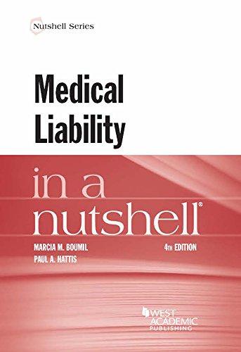 Medical Liability in a Nutshell (Nutshell Series)