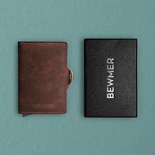 94bfdbea44 Porta Carte Di Credito 2.0 By Bewmer | Portafoglio Rigido Portacarte  Originale | Fermasoldi E Tessere Con Protezione Rfid | Porta Schede  Schermato ...