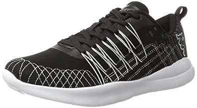 Kappa Unisex-Erwachsene Gizeh Sneaker, Schwarz (1116 Black/Grey), 45 EU