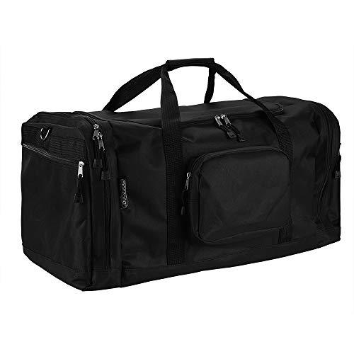 Monzana® Sporttasche - 70 cm - 95 Liter Stauraum - Reistetasche Reisekoffer Koffer Tasche schwarz
