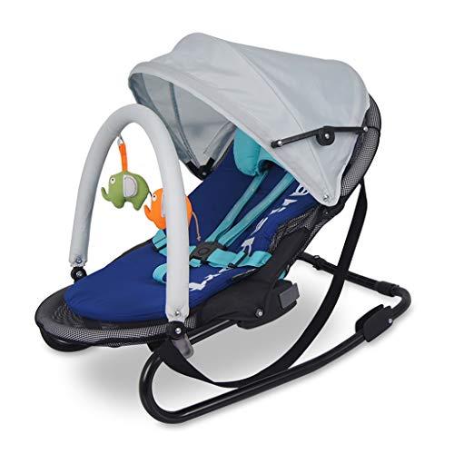 Jian E/& Baby Schaukelstuhl Wiege Baby Komfort Liege Schaukelstuhl Schaukel Wiege Bett Shake Bett Moskitonetz Bett /- (Farbe : B)