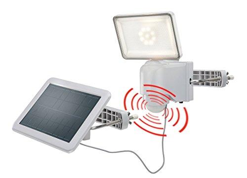 Solar Wandstrahler Power 500 lm Lichtfarbe warmweiß 2800K einstellbarer Bewegungsmelder Sicherheitsstrahler esotec 102510 -